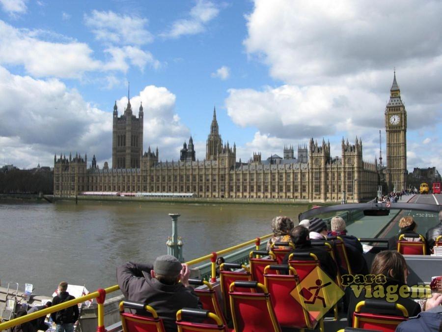 Vista do Big Ben do City Tour