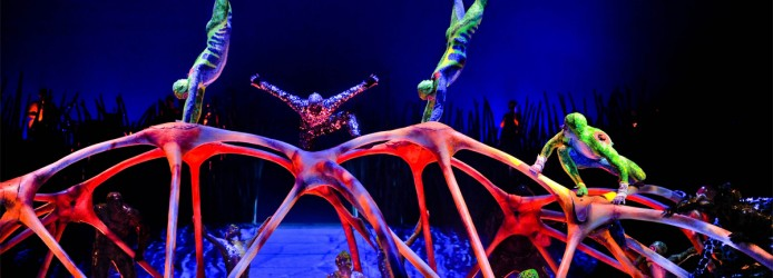 Espetáculo do Cirque du Soleil em Las Vegas