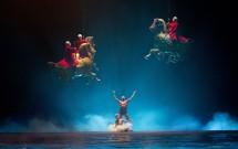 """Apresentação do """"O"""" - Cirque du Soleil"""