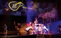 Apresentação do The Beatles Love - Cirque du Soleil