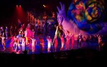 Elenco do Mystère - Cirque du Soleil