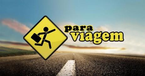 Logomarca do blog Para Viagem