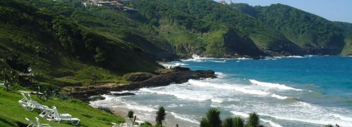 Praia Brava vista de cima