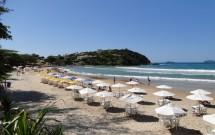 Barracas na Praia de Geribá