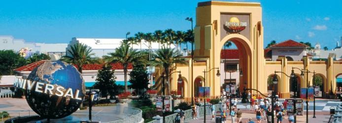 Entrada da Universal Studios
