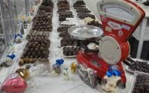Variedade de Chocolates Artesanais