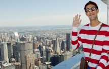 Wally no topo do Empire State Building