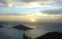 Pôr-do-sol visto do Pontal do Atalaia