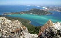 Vista panorâmica de Arraial do Cabo