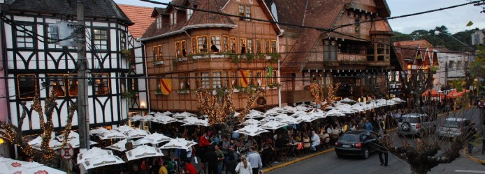 O concorrido Baden Baden