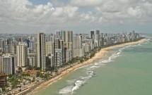 Praia da Boa Viagem em Recife