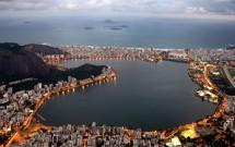 Vista aérea da Lagoa