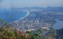 Barra da Tijuca vista da Pedra da Gávea