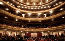 Interior do Theatro Municipal