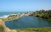 Lagoa de Água Doce na Praia das Fontes