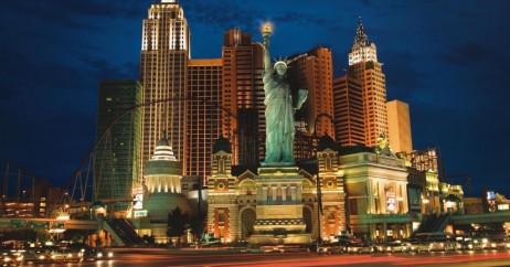 New York New York à noite