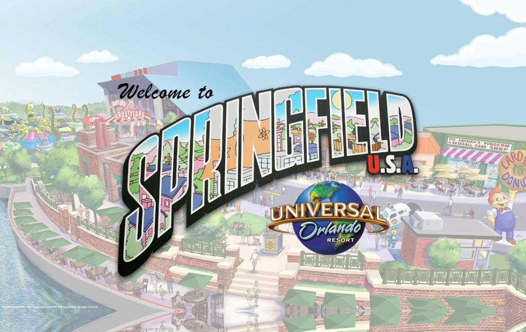 Nova área de Springfield no Universal Studios