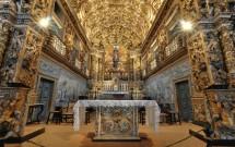 Interior da Igreja de São Francisco - banhada a ouro