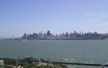 Vista da Ilha de Alcatraz