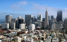 San Francisco vista da Coit Towers