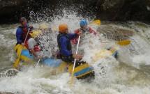 Rafting nas Corredeiras do Rio Macaé