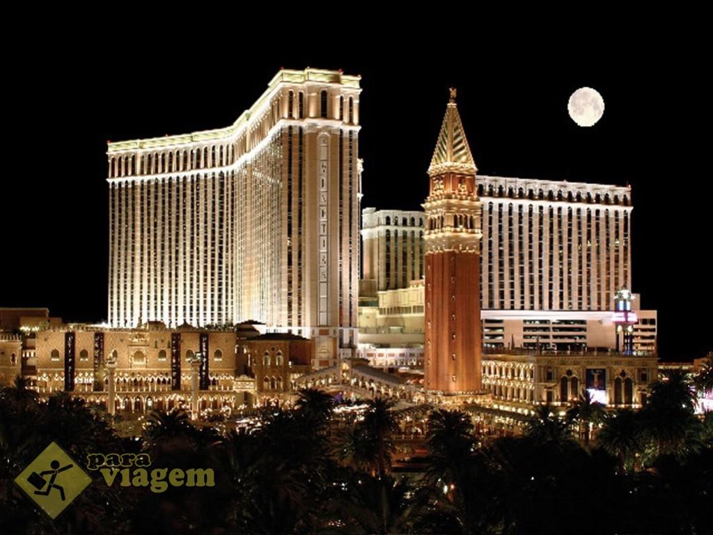 The Venetian à noite