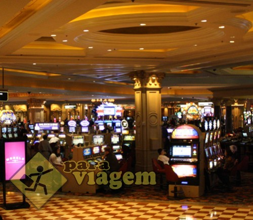 Cassino do The Venetian em Las Vegas