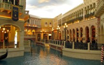 Interior do The Venetian