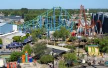 Vista panorâmica do Parque de La Costa