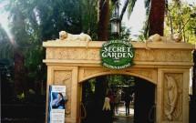 Entrada do Jardim Secreto e Habitat dos Golfinhos
