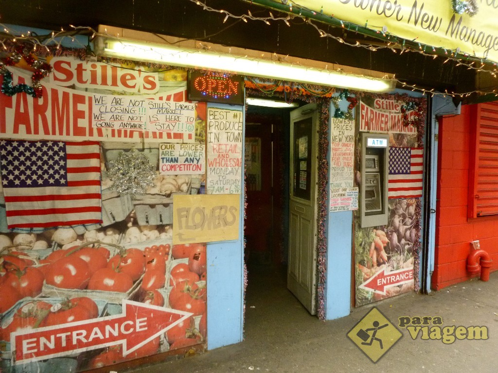 Stiles Farmers Market em Nova York