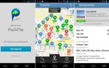 Aplicativo ParkMe para Android