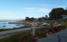 Orla de Monterey na California