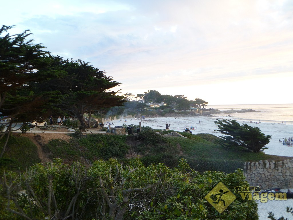 Orla de Carmel na California