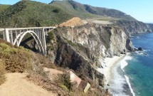 Bixby Creek Bridge na Highway 1