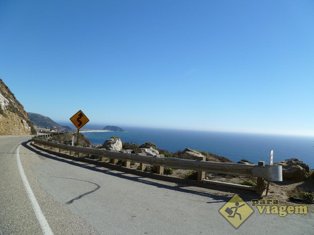 Estrada Sinuosa - California 1