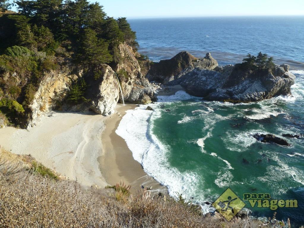Julia Pfeiffer Burns State Beach
