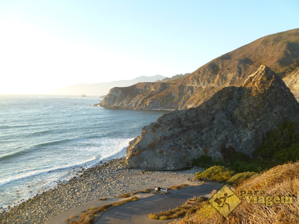 Visual da California Highway 1