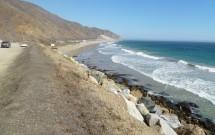 Estrada e Pacífico na Highway 1