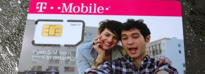 Chip da Operadora T-Mobile