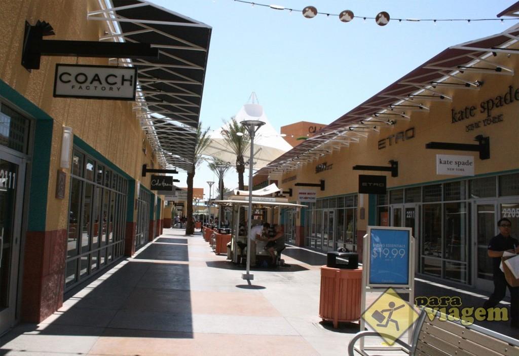 Lojas do Outlet em Las Vegas