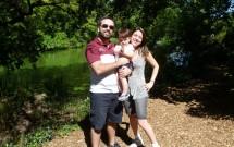 Família com Bebê no Central Park