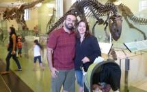 No Museu em NY com Bebê Dormindo