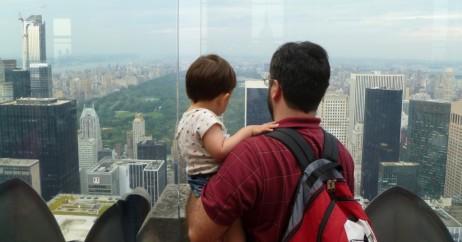 Pai e Filho no Top of the Rock