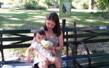 Amamentando no Central Park