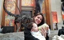 Amamentando no Museu de História Natural