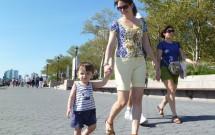 Criança Passeando pelo Battery Park