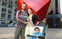 Foto em Família no Red Cube