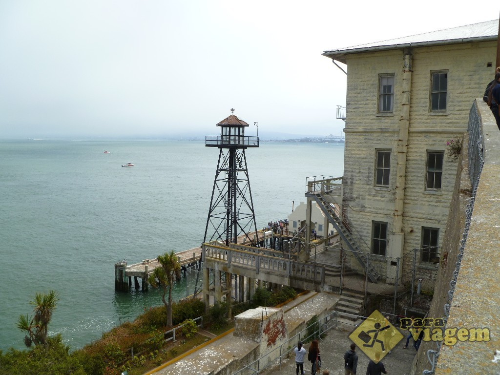 Instalações na Ilha de Alcatraz