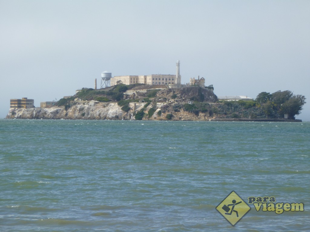 Presídio de Alcatraz em San Francisco
